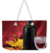 Old Wine Bottle Weekender Tote Bag