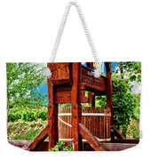 Old Wine Press Weekender Tote Bag