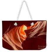 Old Woman In The Canyon Weekender Tote Bag