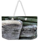 Old Wood Weekender Tote Bag
