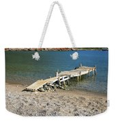 Old Wooden Dock Weekender Tote Bag