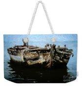 Old Wooden Fishing Boat Weekender Tote Bag