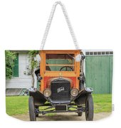 Old Woodie Model T Ford  Weekender Tote Bag