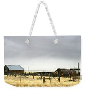 Old Wyoming Farm Weekender Tote Bag