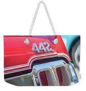 Olds 442 Classic Car Weekender Tote Bag