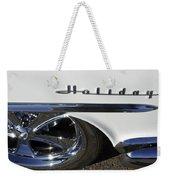 Oldsmobile Holiday Emblem Weekender Tote Bag
