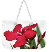 Oleander Blood-red Velvet 2 Weekender Tote Bag