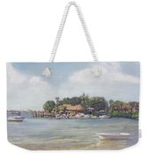 O' Leary's Tiki Bar And Grill On Sarasota Bayfront Weekender Tote Bag