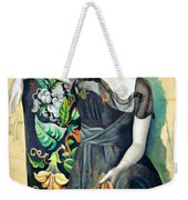 Olga In An Armchair Weekender Tote Bag