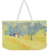 Olive Trees In Tuscany Weekender Tote Bag by Antonio Ciccone