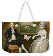 Oliver And Abigail Wolcott Ellsworth 1801 Weekender Tote Bag