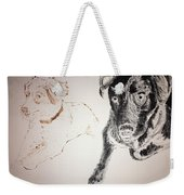 Oliver And Fury Commission Weekender Tote Bag