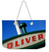 Oliver Tractor Nameplate Weekender Tote Bag