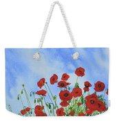 Olivia's Poppies Weekender Tote Bag