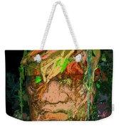 Olmec Man Weekender Tote Bag