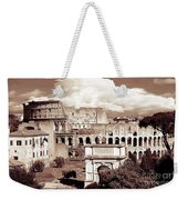 Colosseum From Roman Forums  Weekender Tote Bag