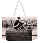Olympic Champion - John B Kelly Weekender Tote Bag by Bill Cannon