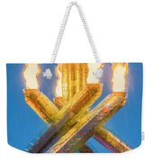 Olympic Gold Weekender Tote Bag
