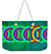 Olympic Green Weekender Tote Bag