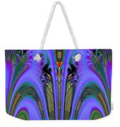 Olympic Torch And Fireworks Fractal 162 Weekender Tote Bag