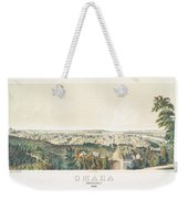 Omaha, Nebraska Looking North From Forest Hill 1867 Weekender Tote Bag