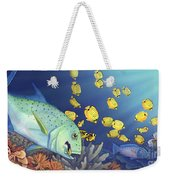 Omilu Bluefin Trevally Weekender Tote Bag