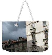 Ominous Sky In Croatia Weekender Tote Bag