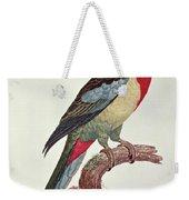 Omnicolored Parakeet Weekender Tote Bag