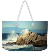 On A Clear Day Cropped Weekender Tote Bag