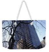 On A Clear Day...moma Courtyard Ny City Weekender Tote Bag