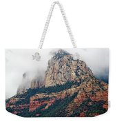 On A Misty Day Weekender Tote Bag