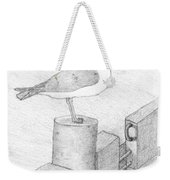 On A Perch Weekender Tote Bag