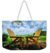 On A Pretty Summer Day Oil Painting Weekender Tote Bag