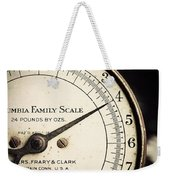 On A Scale Of One To Four Weekender Tote Bag