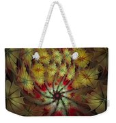 On A Windy Autumn Day Weekender Tote Bag