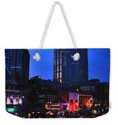 On Broadway In Nashville Weekender Tote Bag