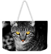 On Cat Watch Weekender Tote Bag
