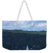 On Cayuga Lake Weekender Tote Bag