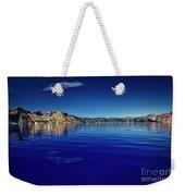 On Crater Lake Weekender Tote Bag