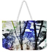 On Frozen Pond Weekender Tote Bag