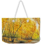 On Golden Road Weekender Tote Bag