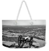 On Guard At Point Park Lookout Mountain In Tennessee Weekender Tote Bag