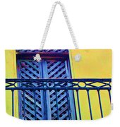 On The Balcony Weekender Tote Bag