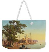 On The Banks Of The Nile Weekender Tote Bag