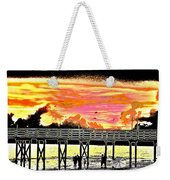 On The Beach Weekender Tote Bag by Bill Cannon