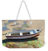 On The Beach Mykonos Greece Weekender Tote Bag
