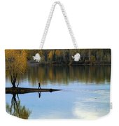 On The Bend Of The River Weekender Tote Bag