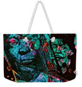 On The Blues Highway With Leadbelly And Muddy Waters Weekender Tote Bag