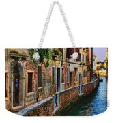 On The Canal-venice Weekender Tote Bag
