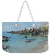 On The Capri Coast Weekender Tote Bag by Paul von Spaun